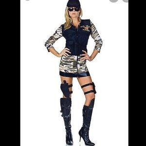 Adult Sexy Seal Team Costume